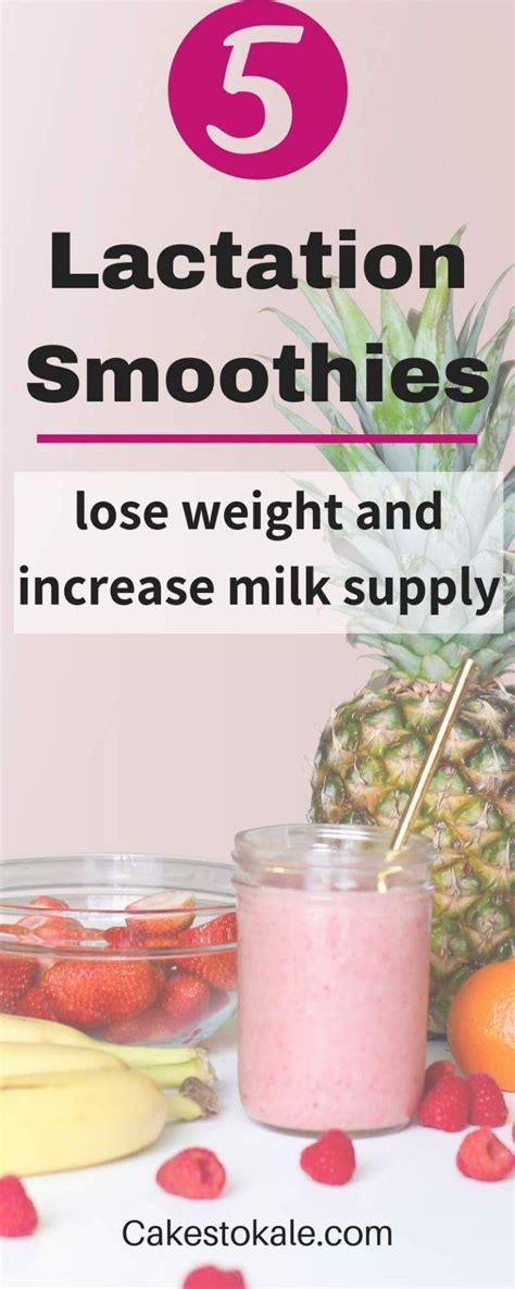 lactation smoothie recipes  increase milk supply