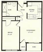 Bedroom House Plans 1 Bedroom Floor Plans 1 Bedroom House Floor High Resolution One Bedroom Home Plans 12 1 Bedroom House Floor Plans Bedroom Plans India Craftsman Coffee Table Plans Cutting Boards Wood 50 One 1 Bedroom Apartment House Plans Architecture Design