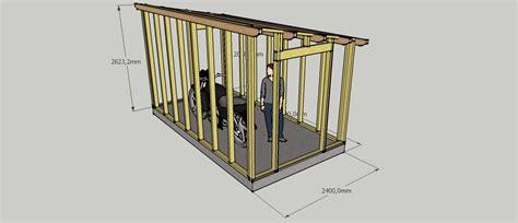 plan chambre 3d abri de jardin sur mesure en ossature bois artisan