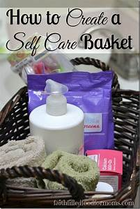 Birthday Chart Ideas How To Create A Self Care Basket For Womens Health Diy