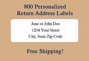 return address labels owner39s guide to business and With free return address labels free shipping