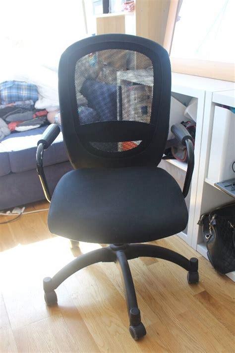 Office Chairs Gumtree by Black Ikea Flintan Nominell Swivel Office Chair In