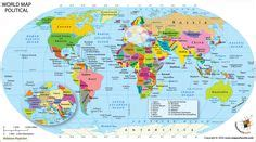 world map  large images  printable world map