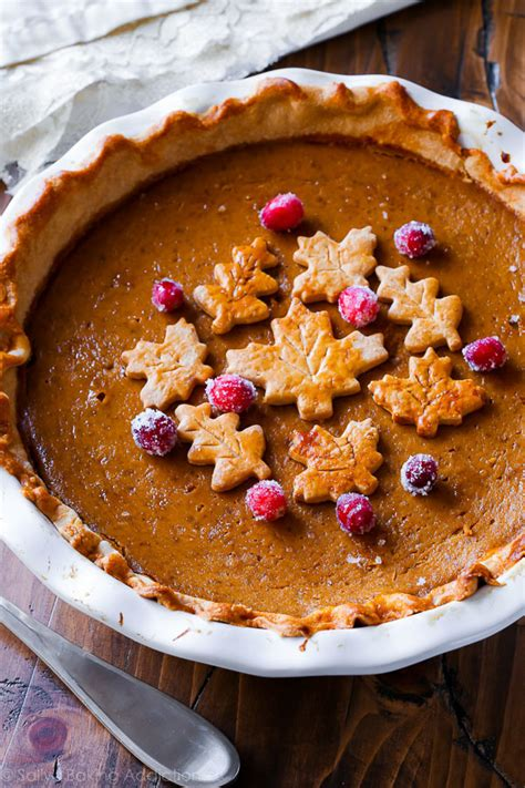 This is a rich, spicy pie that slices well and has a bright pumpkin flavor. The Great Pumpkin Pie recipe