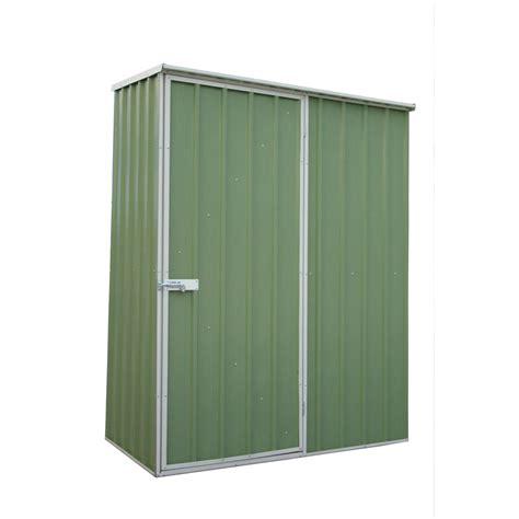 Qiq Fix Sheds qiq fix 1 5 x 0 8 x 1 9m green garden shed bunnings