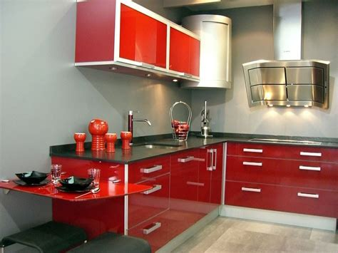 cocinas modernas de color rojo youtube