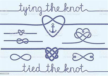 Rope Knot Knots Vector Tie Clipart Hearts