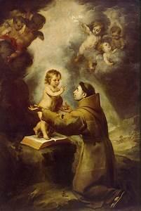 Vision Of St Antony Of Padua - Bartolome Esteban Murillo