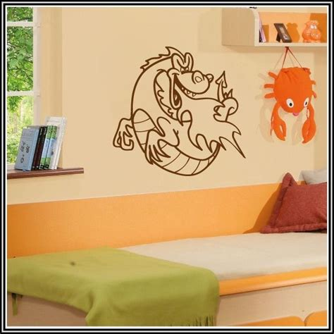 Wandtattoo Kinderzimmer Drache by Wandtattoos Drachen Kinderzimmer Kinderzimme House Und