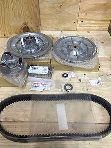 Yamaha Golf Cart Driven Secondary Clutch Kit  U0026 Drive Belt