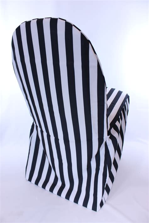 unique black and white chair covers inspirational