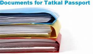 Tatkal passport how to get tatkal passport quickly easily for Documents required for passport online application