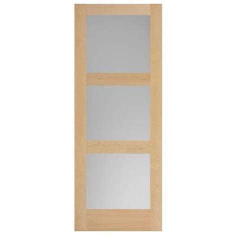 home depot solid wood interior doors masonite 3 lite equal maple veneer solid wood interior