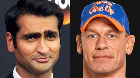 kumail nanjiani ellen kumail nanjiani and john cena to team up for buddy cop film