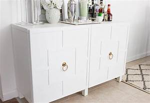 DIY Ikea Hack Besta Cabinet Two Ways - Glam Latte