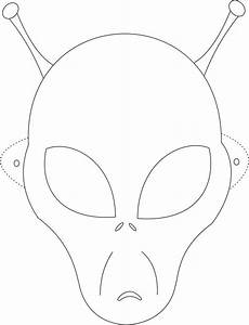 Alien mask printable coloring page for kids kids crafts for Children s mask templates