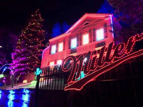 christmas lights at miller brewery milwaukee all is bright at millercoors lites onmilwaukee