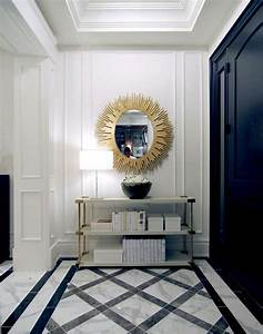 The, Chic, Technique, Fantastic, Foyer, In, Black, White, And