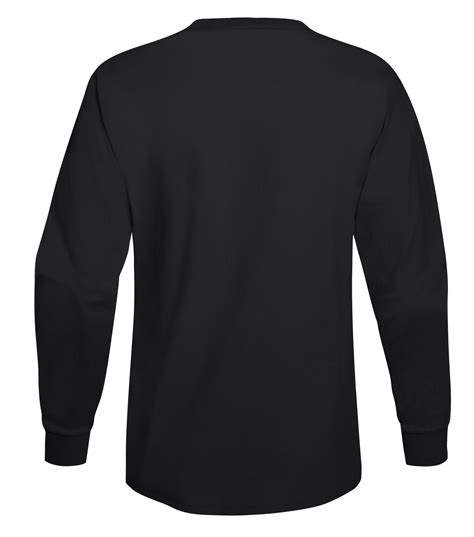 5596 Tagless® Long Sleeve T-Shirt with Pocket ...