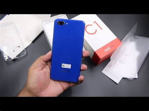 realme c1 unboxing features review a
