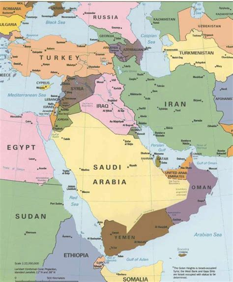 Blank Map Of The Middle East | Search Results | Calendar 2015