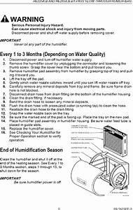Honeywell He225b1004 User Manual Humidifier Manuals And