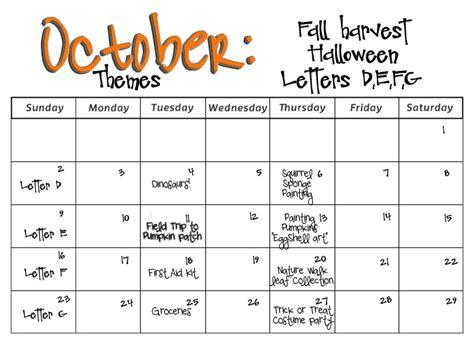 smarty preschool monthly calendars 994 | October%2B2011