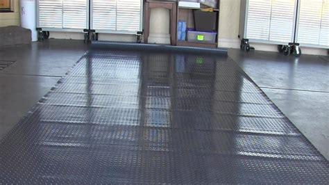 garage rubber flooring i unrolled my garage floor mat and it won t lay flat