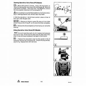 Volvo Penta 2003 Engine Manual