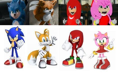 Sonic Characters the Live Aciton Movie | Filmes