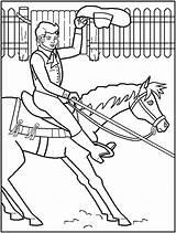 Coloring Rodeo Barrel Racing Horses Derby Kentucky Printable Trick Riding Cowboy Sketches Clip Horse Library Clipart Cartoon Popular Cowboys Barrels sketch template