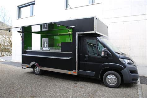 food truck gebraucht roka food truck anh 228 nger fahrzeugbau wenk ag st gallen