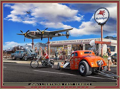 Hot Rod  Auto Art Gallery, From Garage Art Llc