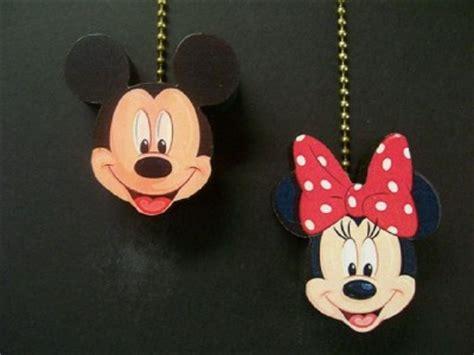 2 disney mickey minnie mouse ceiling fan pull pulls ebay