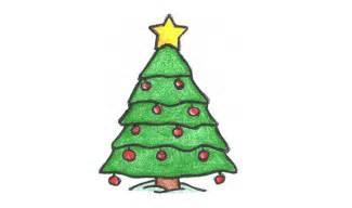 como desenhar uma árvore de natal enfeite how to draw a tree ornament