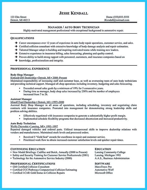 Auto Sales Resume by Writing A Clear Auto Sales Resume