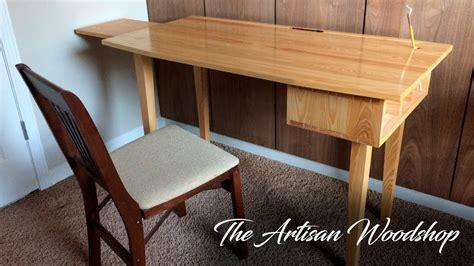 woodworking project art desk writing desk