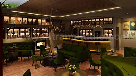 Bar Interior Design by Bar Restaurant Interior Design By Yantram 3d Interior