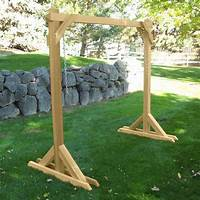 free standing swing Basic Frame Porch Swing Stand | Patio, Plants & Yard ...