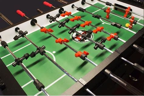 foosball table    foosball players