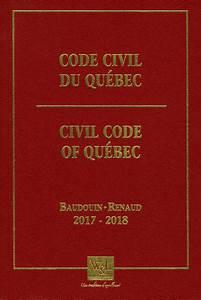 Charte Des Droits Et Libertés De La Personne Quebec Code Civil Du Québec 2017 2018 Par Jean Louis Baudouin