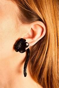 Flower Ear Plugs 0 Gauge