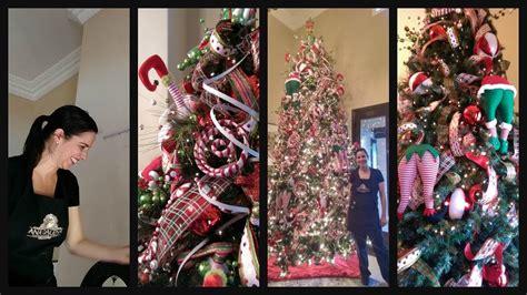 decoracion de arboles con cinta como decorar el 225 rbol de navidad paso por paso