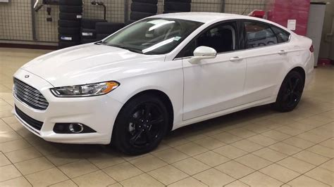 2016 Ford Fusion Se Awd Review