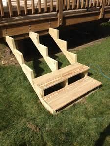 Deck Stair Stringers