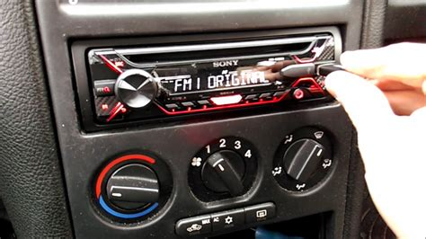 Replacing Stereo Astra Youtube