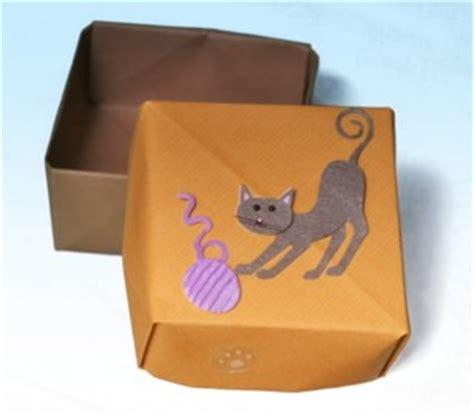 fabriquer une boite origami