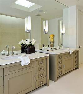 taupe cabinets contemporary bathroom pacific With what kind of paint to use on kitchen cabinets for wall art and mirrors