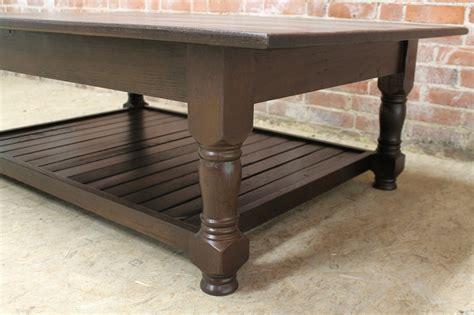 durable oak coffee table ecustomfinishes