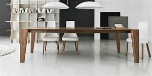 table design bois grande table de salle a manger With grande table salle a manger design